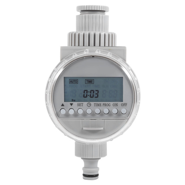 Garden Watering Timer Solar Water Timer Automatic Watering Irrigation Controller System Garden Irrigation Timer with LCD Digital