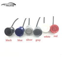 4 unids Sensores de aparcamiento negro azul gris rojo blanco plata oro Para todo El coche