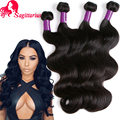 7A Brazilian Virgin Hair Body Wave One Bundle Brazilian Body Wave Human Hair Extensions Brazilian Hair Weave Bundles Body Wave