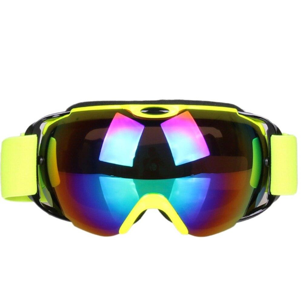 Новое поступление, профессиональные лыжные очки, двухслойные, анти-туман, большая Лыжная маска, очки для катания на лыжах, сноуборде, очки