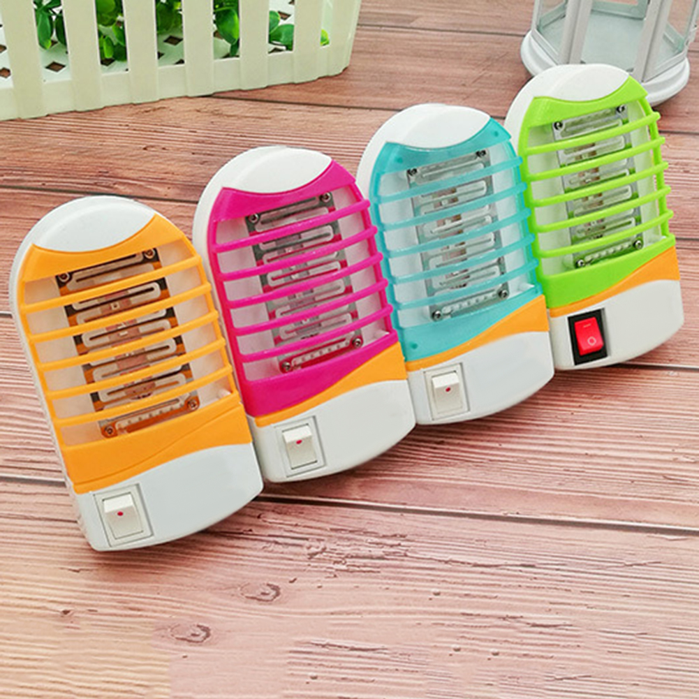 LED Night Light Bug Insect Fly Killer Mosquito Repellent Trap Lamp US Plug