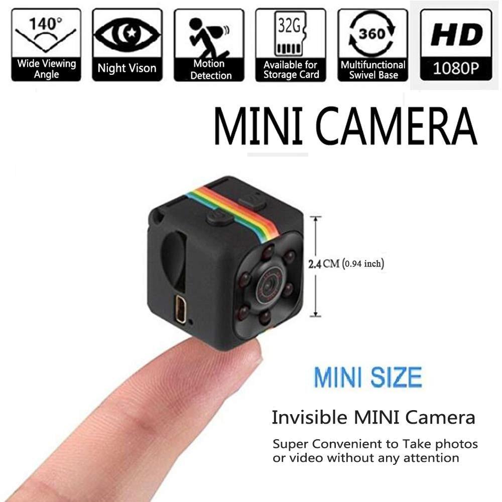 SQ11 HD 1080 p mini cámara pequeña cámara CMOS Sensor de visión nocturna Cámara videocámara dvr cámara grabadora videocámara SQ 11