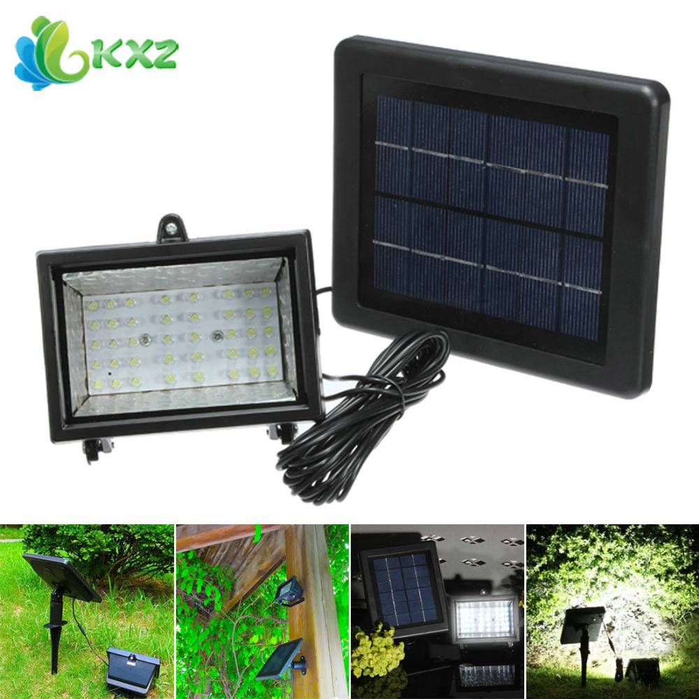 Solar Power LED Flood Light Floodlight Outdoor Waterproof Garden Decoration Path Street Landscape Lawn Security Spot Wall Lamp super bright 20w led solar panel floodlight remote control outdoor waterproof garden light path wall outdoor emergency lamp