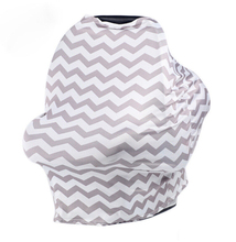 3 in 1 Cover: Baby Car Seat Cover, Nursing Cover, Shopping Cart Cover