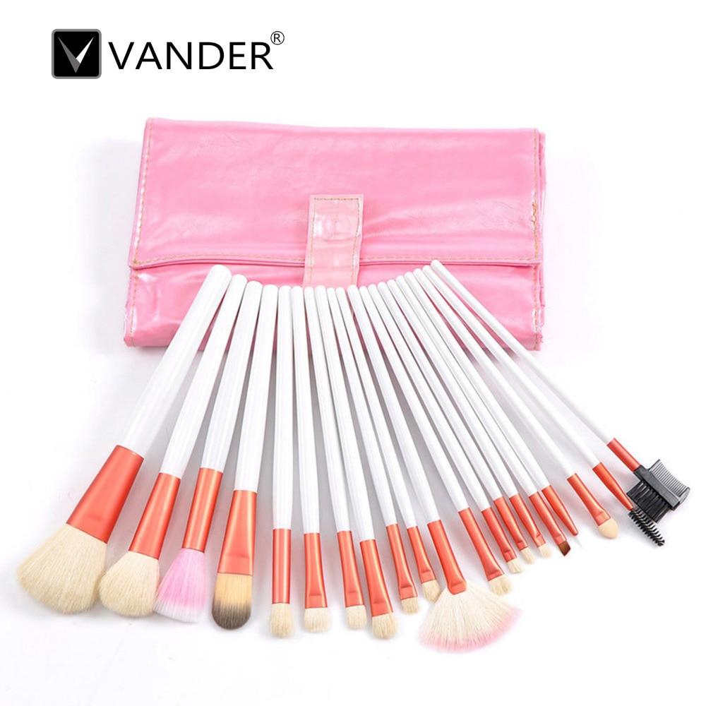 20Pcs/set Pro Makeup brushes Foundation Eyebrow Powder Eyeshadow Eyeliner Lip Concealer Eyelash Blending Brush Set Kit