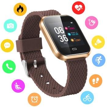 BOAMIGO ساعة ذكية الرياضة الذكية معصمه مكالمة رسالة تذكير السعرات الحرارية ساعة مصنوعة من خليط معدني ل IOS الروبوت الهاتف بلوتوث Relogio