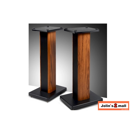 High Grade Solid Wood Bookshelf Speaker Stand Support Bracket HiFi Home Theater DIY 1590cm Sand Fill Structure 2pcs Lot In Accessories From