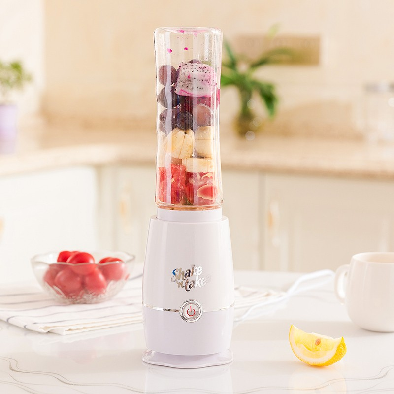 220V 500ML Mini Household  Multifunction Portable Electric Fruit Juicer Food Mixer Automatic Bottle Juicer Cup EU/AU/UK Plug kkstar fruit electric juice cup glass charging portable mini mini cyclone