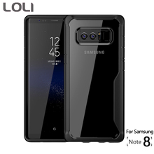 For Samsung Galaxy Note 8 Case Transparent TPU Back Cover for Cases LOLI Brand Phone Note8