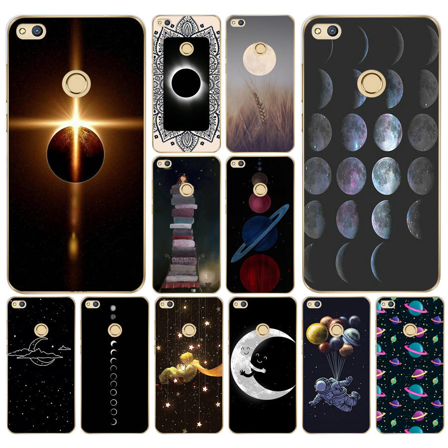 Phone Bags & Cases Cellphones & Telecommunications 73g Sky Space Planet Black And White Sun Moon For Huawei P20 Lite Case Cover Soft Silicone Tpu Cover For Huawei P20 Lite Case We Have Won Praise From Customers