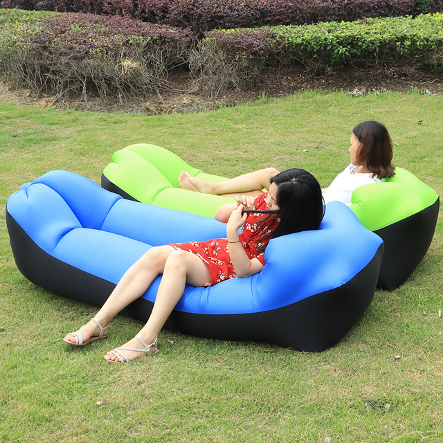 Inflatable Lounger Couch for Beach and Outdoors