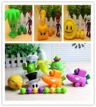 New 16 style Popular Game PVZ Plants vs Zombies Peashooter PVC Action Figure Model Toys 10CM Plants Vs Zombies Toys