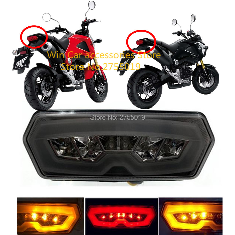 2018 Motorcycle Rear Tail Light Motocross Led Turn Signal