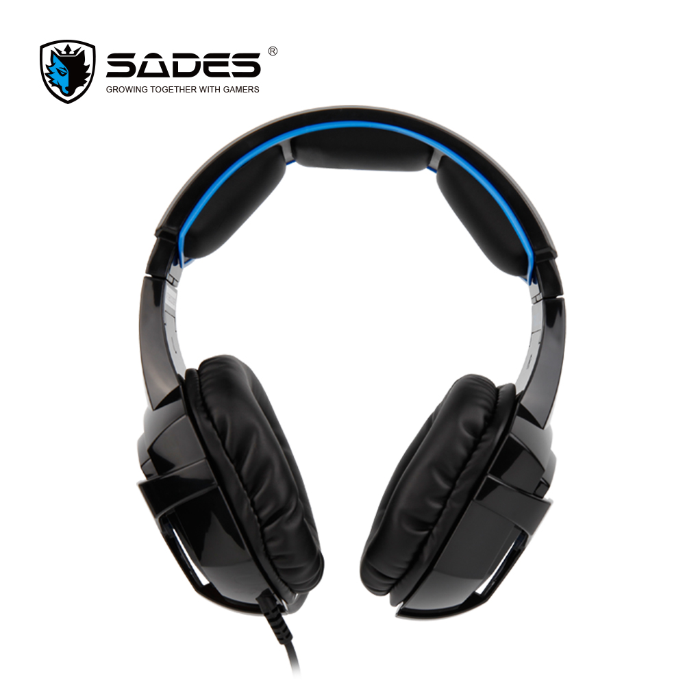 SADES BPOWER Gaming Headset 3.5mm Stereo Sound Music headphones for Xbox One/PS4/PC/Laptop/Mobile Gamer