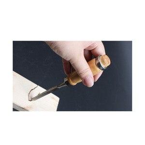 Профессиональный ручной инструмент для резьбы по дереву, 12 шт./компл.