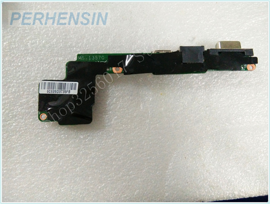 Original Genuine laptop FOR MIS FOR MS-13571 MS-1357 MS-13570 VGA WLAN USB BOARD