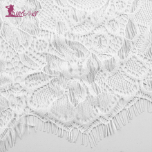 Lurehooker 2017 Sexy Lace Erotic Lingerie White Perspective Sexy Underwear Embroidery Bow Sleep Sling Dress+T-thongs Babydoll