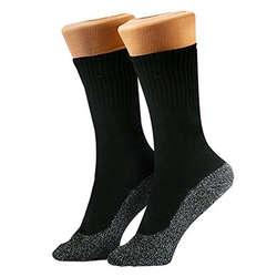 1 пара носков, сохраняющих тепло, с алюминиевым волокном, изоляция ниже носков, XIN-доставка