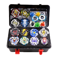 Spin Tops Burst New Set Blades Toys For Children 12 Spin Tops+3 Launchers+1 Handle+1 Box