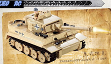 DIY ABS ROHS material Germany Tiger tank 995pcs building blocks DIY toys BY EMS