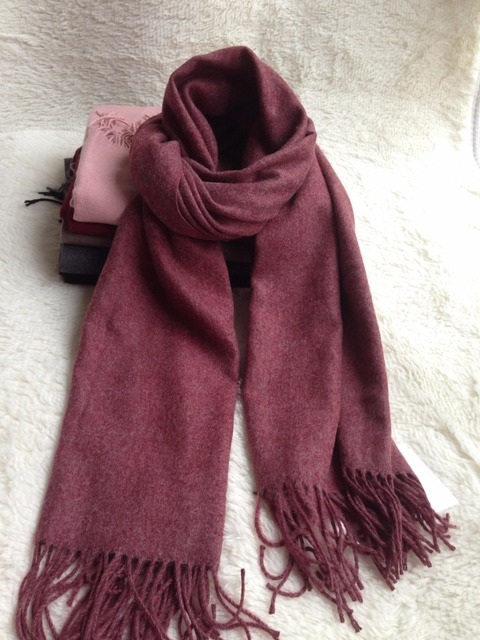 New special Color High Quality Warm Winter Men and Women universal fringed large size shawl scarf