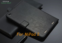 Free Shipping Genuine Leather High Quality Tablet Case For Xiaomi MiPad 2 Gift Touchscreen Pen