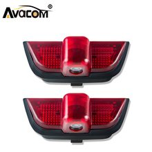 Avacom 2pcs LED Canbus Car Welcome Door Light 12V Ghost Shadow Projector Logo Light Car Styling Lamp For Mercedes Benz W204 C300(China)