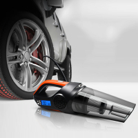 Car Vacuum Cleaner Portable Wet/Dry Dual Use Auto Vacuum Cleaner DC12V 120W 4800pa Air Inflator Home Car Electronic Accessories