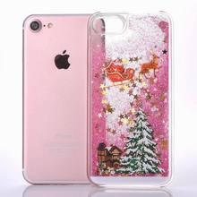 Quicksand Christmas Tree iPhone X Case(5 Designs)