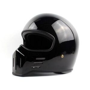 Image 5 - Casco de motocicleta TT CO Thompson TT01 Spirit Rider, cascos integrales de Motocross, compacto y ligero, casco de motocicleta Vintage