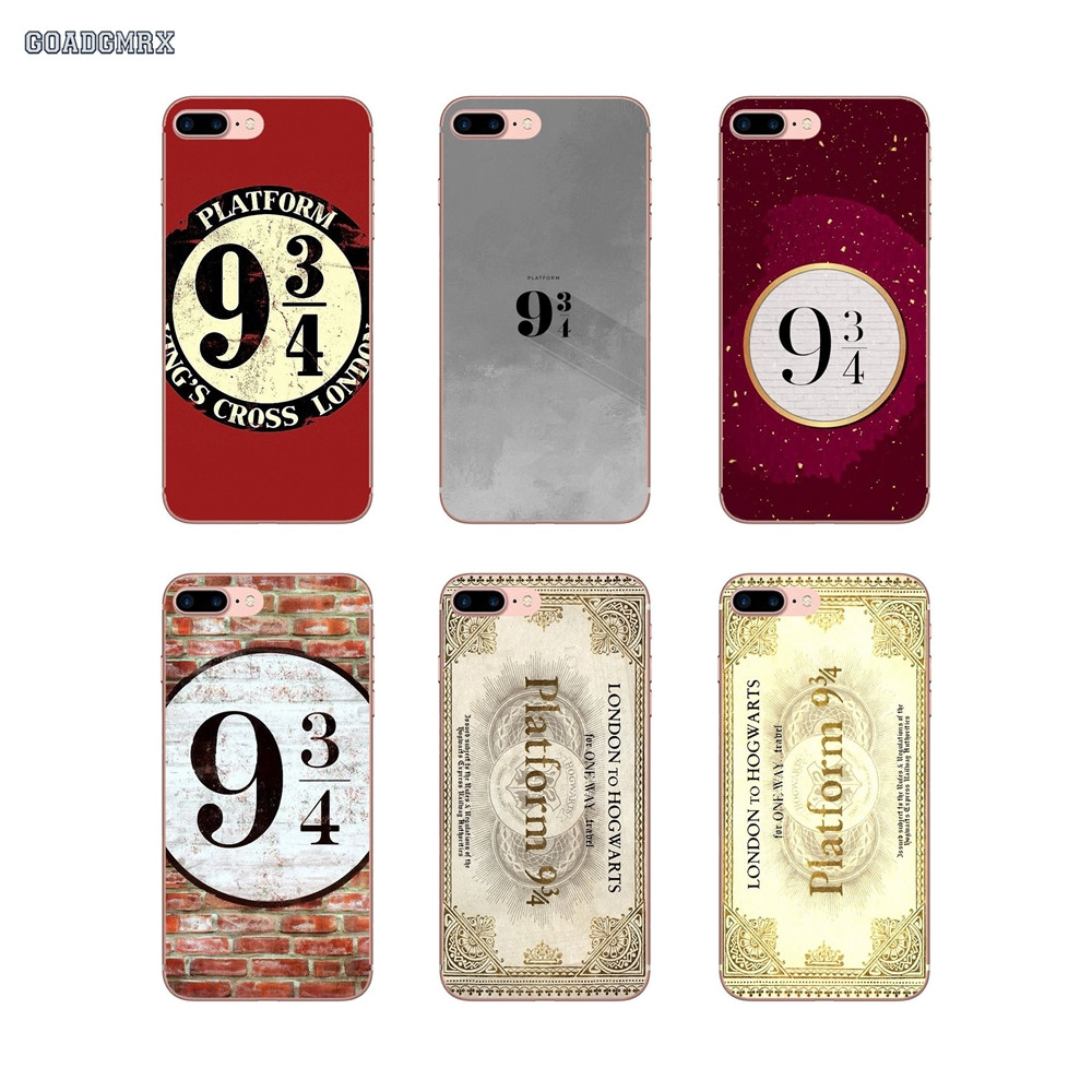 Cases-Covers Platform Potter Samsung Galaxy Transparent J3 J5 J7 A3 A5 A7 9-3-4 Harry