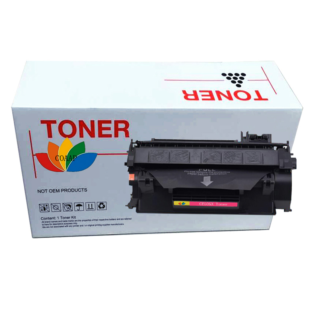 6500 pages BLACK Toner Cartridge Compatible For HP CE505X 05X For HP P2050  2055d 2055n 2055x For Canon LBP6300dn LBP6650dn e06e41da525e3