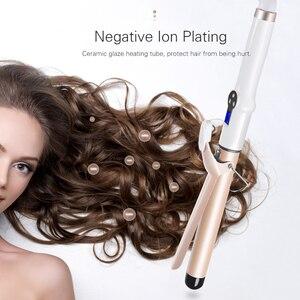 Image 4 - TINTON yaşam elektrikli profesyonel seramik saç bigudi Lcd bukle makinesi rulo bukleler değnek Waver moda Styling araçları