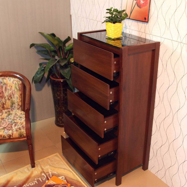 Aliexpress.Com : Buy 66 Cm Wooden Chest Of Drawers Bedroom Living
