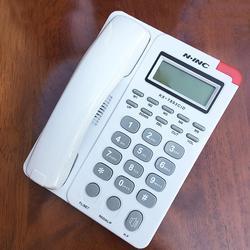 KX-893 Display LCD Caller Volume Ajustável Telefone Grande Botão Telefone Com Fio de Telefone Fixo de Alarme Home Office Secretária Colocar Telefone Fixo