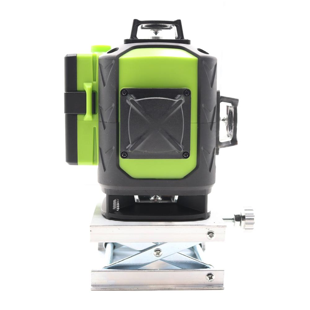 Tools : Fukuda Newest 4D laser level 16 lines 532 NM Green laser level Automatic Self Leveling 360 Vertical amp Horizontal Tilt  amp  Outdoor