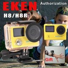 EKEN H8/H8R Ultra HD 4 K WIFI Eylem Kamera 1080 p/60fps 720 P/120FPS Mini Kam 30 M Su Geçirmez Kask Spor DVR Gitmek Extreme Pro kam