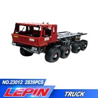 Новый Лепин 23012 2839 шт. натуральная дизайн серии Аракава Moc эвакуатор Tatra 813 развивающие строительные блоки кирпичи игрушки подарок