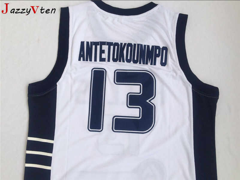 size 40 25500 ab417 2019 new design movie Basketball Jersey hellas men embroidery #13 Giannis  Antetokounmpo Jersey Throwback