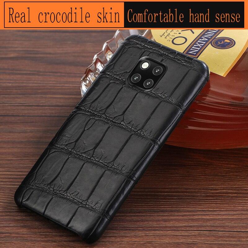 Страусиная кожа чехол для телефона для huawei P10 P20 mate 20 10 9 Pro Lite Чехол Мягкий ТПУ Край чехол для Honor 8X Max 9 10 Nova 3 3i lite - 3
