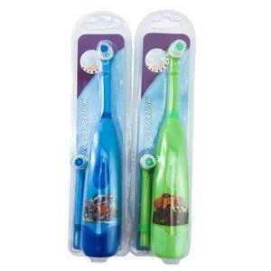 Image 3 - Orale Gezondheid Elektrische Tandenborstel Kinderen Voor Kind Meer Dan 3 + Jaar Oplaadbare Inductieve Lading Opzetborstels Voor Kinderen Borstel heads