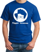 Flippin Awesome IT Crowd Inspired Funny Geek Moss Nerd Computer Mens T-Shirt Printed T Shirt 2017 Fashion Brand Top Tee