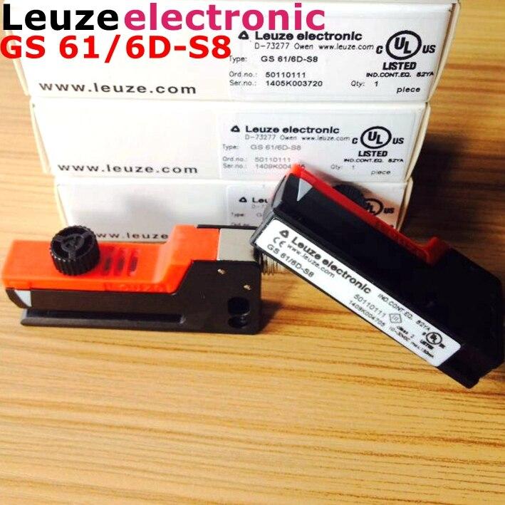 Leuze interrupteur électronique GS 61/6D-S8 50110111 tout neuf original