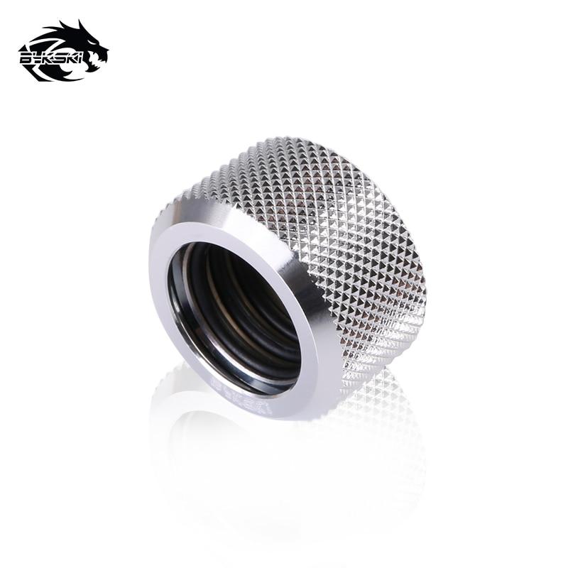 BYKSKI silverversion G1 / 4 Plugg / slangmontering / OD14mm - Datorkablar och kontakter - Foto 6