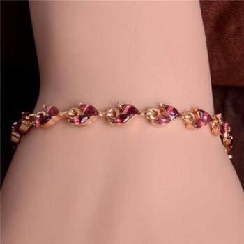 Women's Fashion Colorful Bracelets Bracelets Jewelry New Arrivals Women Jewelry Metal Color: H289