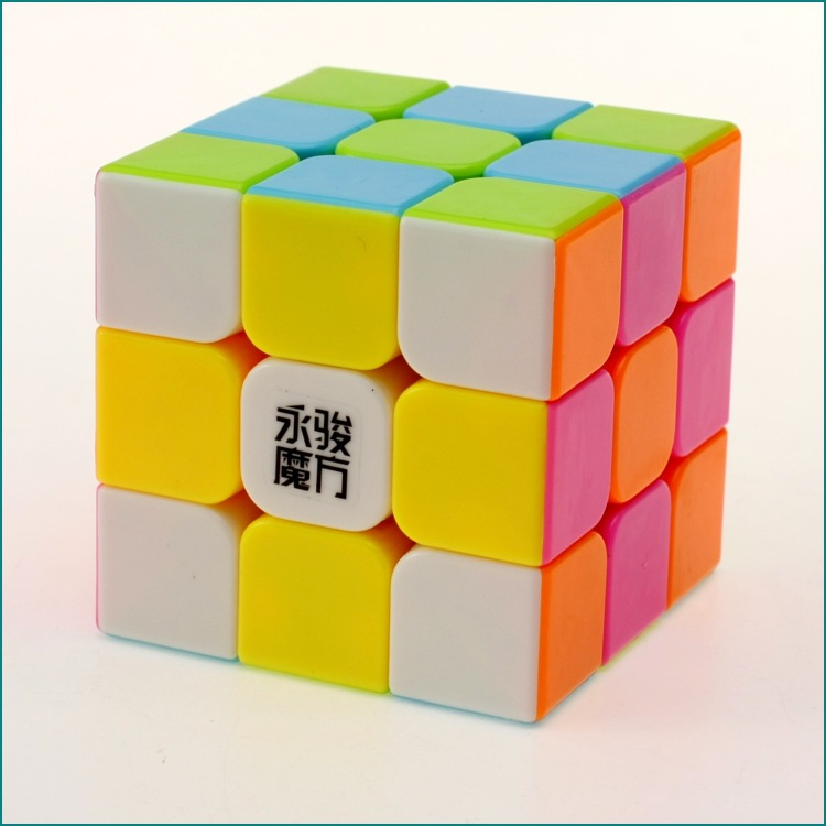 3x3x3 YJ Yongjun Magic Cube Speed ​​Cubo Square Puzzle Kiub Tiada - Teka-teki - Foto 4