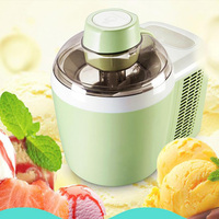 home full automatic intelligent ice cream machine household ice maker 0.5L 220 240V soft ice cream four colors