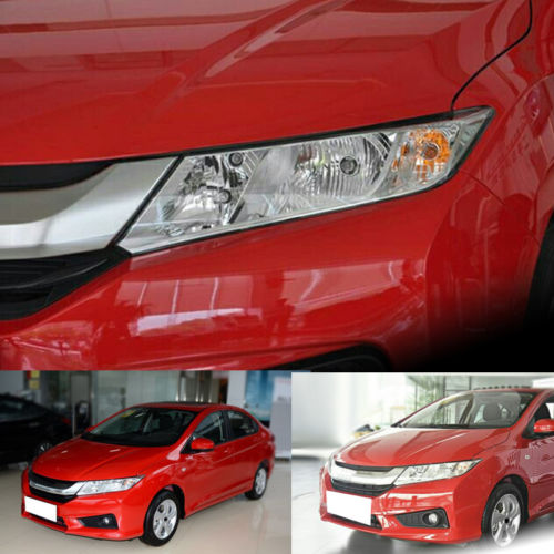 For Honda City/Grace 2014-2016 Right & Left Headlight Lamp Assembly Set  NEW right combination headlight assembly for lifan s4121200