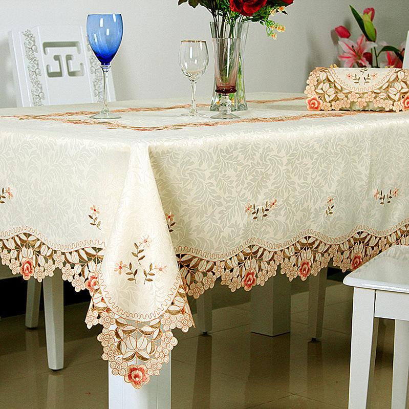 Handmade Manteles Para Mesa Fashion Embroidered Tablecloth 100