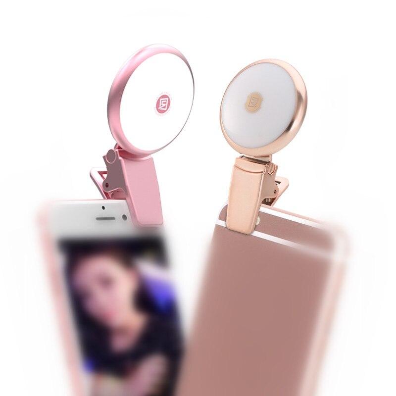 Mini Dimmable lampes LED nouveauté éclairage prendre des photos de lumières de beauté rétro-éclairage remplir lumières éclairage Portable